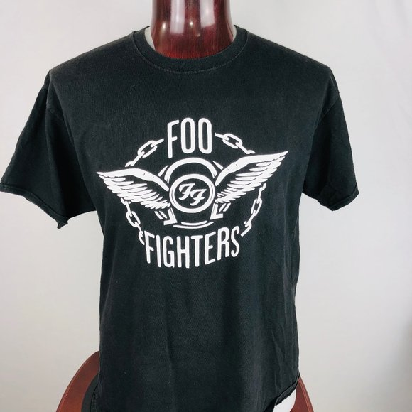 Hanes Other - Foo Fighters 2018 Wrigley Field Chicago Tour XL T